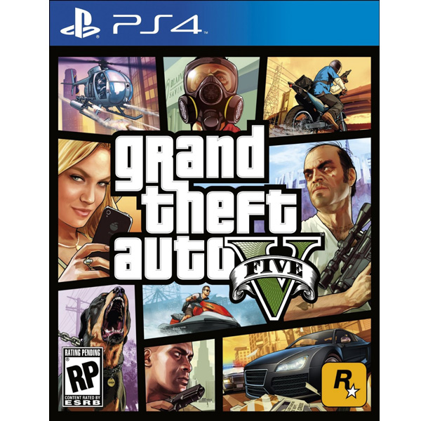 Grand Theft Auto V Playstation 4 Tryaksh Store Tryaksh Lk